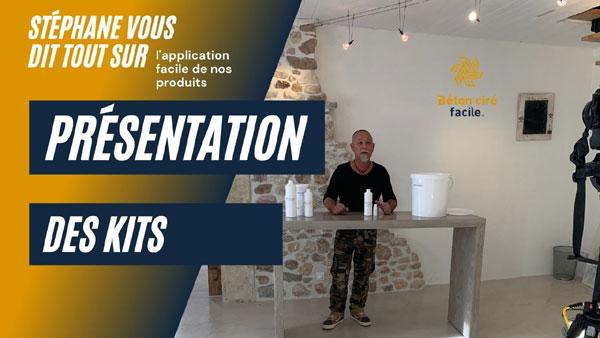 Vidéo de présentation des kits Béton Ciré Facile